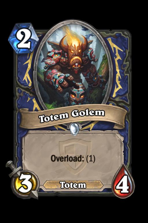 Totem Golem Hearthstone kártya
