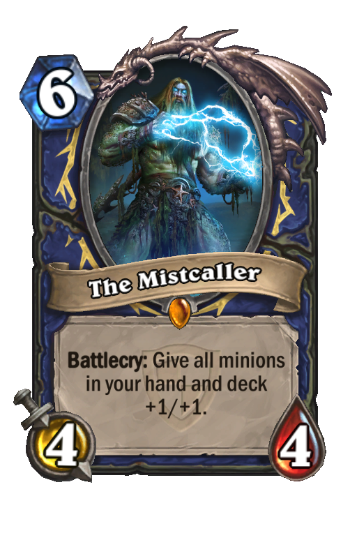 The MistcallerHearthstone kártya