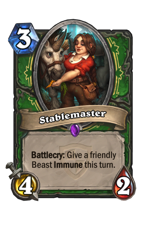 Stablemaster Hearthstone kártya