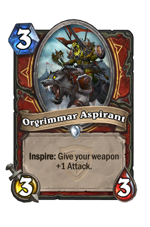 Orgrimmar AspirantHearthstone kártya