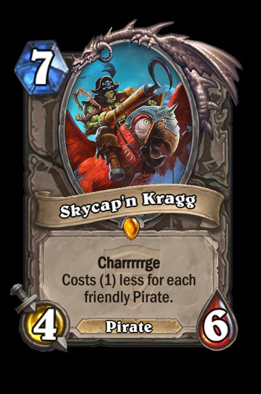 Skycap'n Kragg Hearthstone kártya