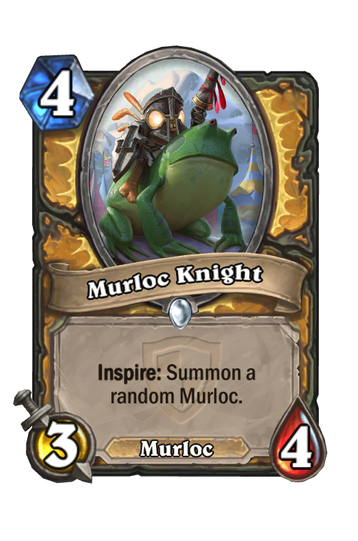 Murloc Knight Hearthstone kártya