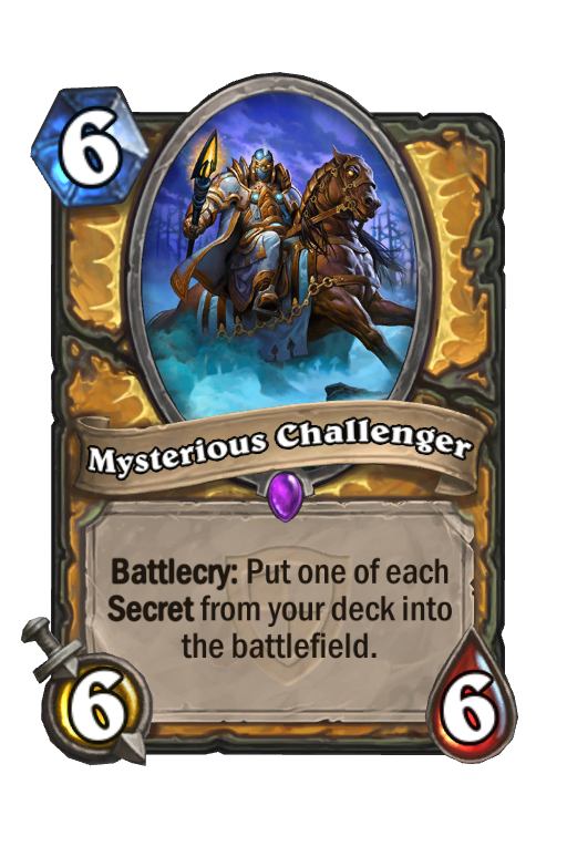 Mysterious Challenger Hearthstone kártya