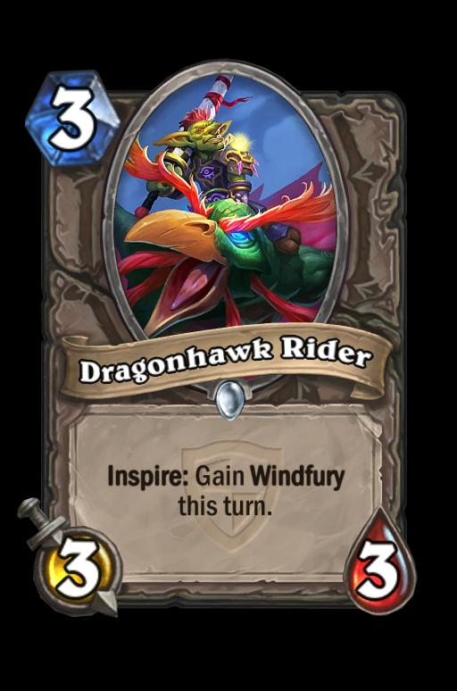 Dragonhawk Rider Hearthstone kártya
