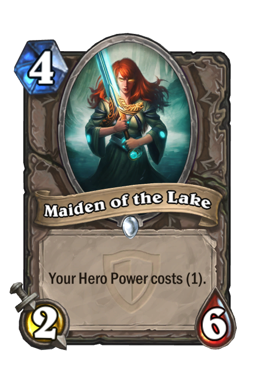 Maiden of the Lake Hearthstone kártya