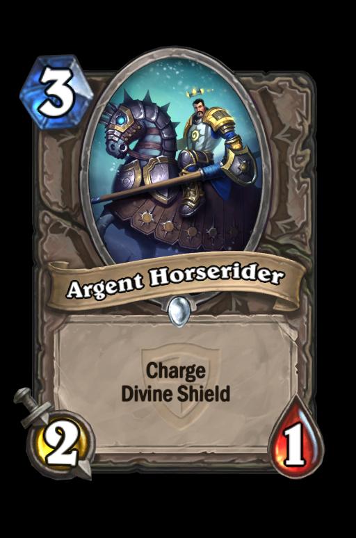 Argent Horserider Hearthstone kártya