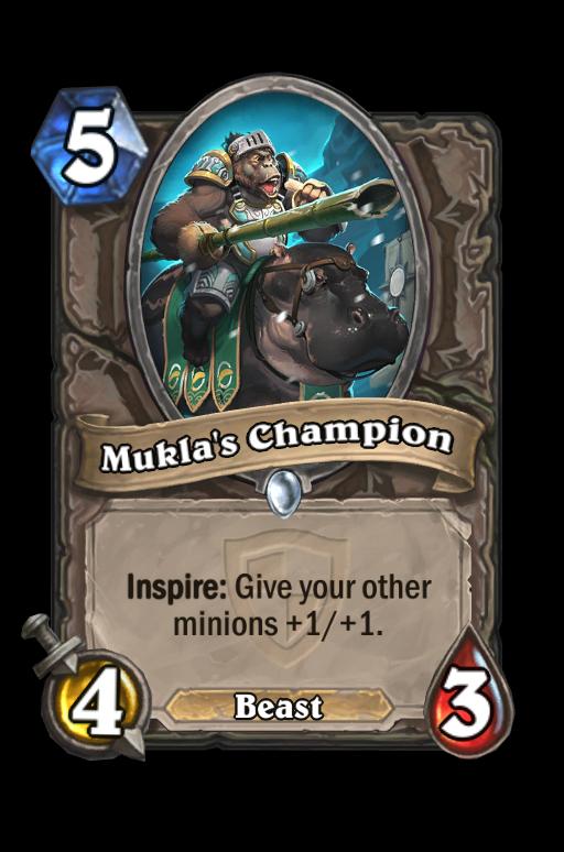 Mukla's Champion Hearthstone kártya