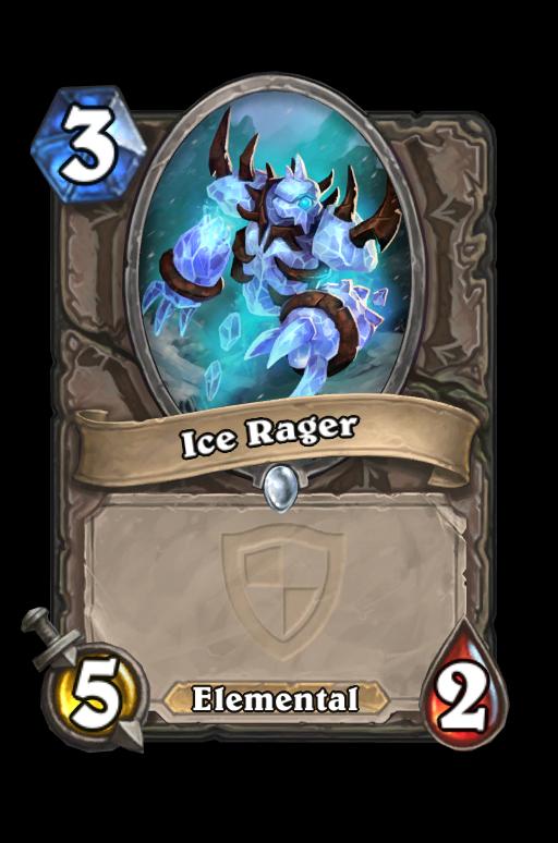 Ice Rager Hearthstone kártya