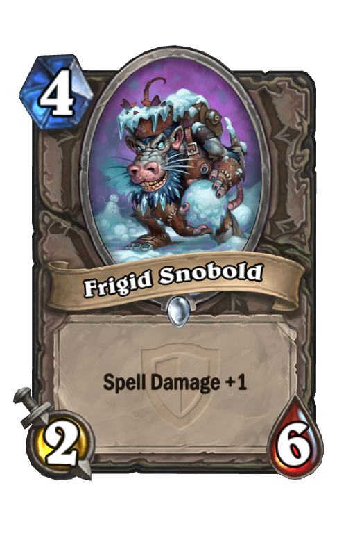 Frigid Snobold Hearthstone kártya