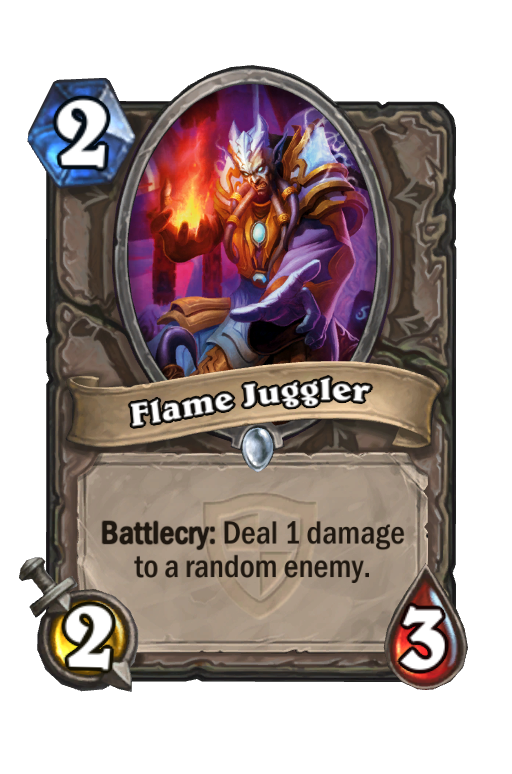 Flame Juggler Hearthstone kártya