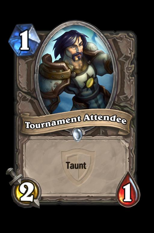Tournament Attendee Hearthstone kártya