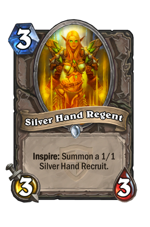 Silver Hand Regent Hearthstone kártya