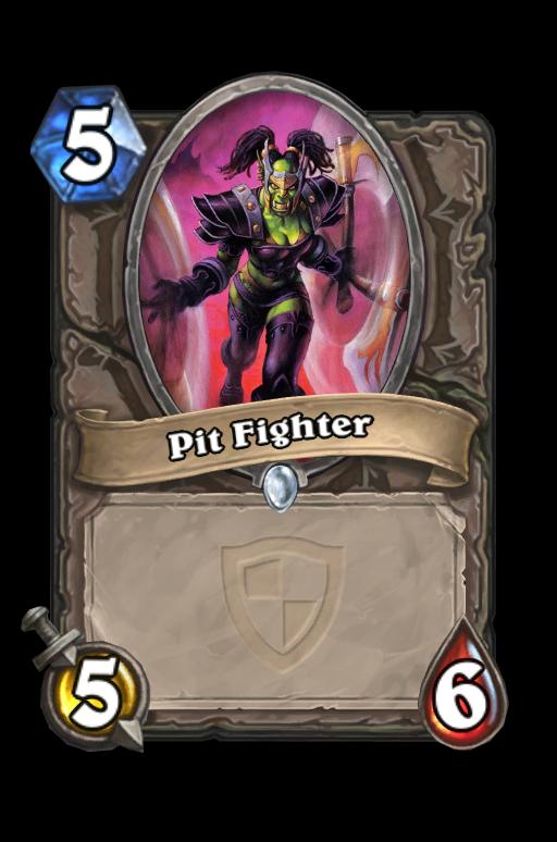 Pit Fighter Hearthstone kártya