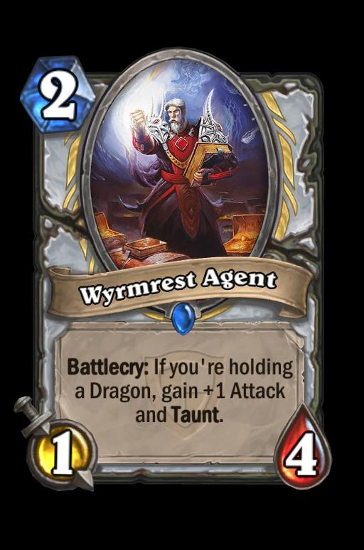 Wyrmrest Agent Hearthstone kártya