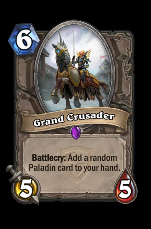 Grand Crusader Hearthstone kártya