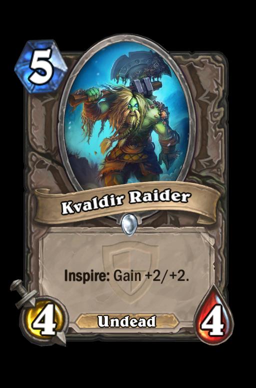 Kvaldir Raider Hearthstone kártya