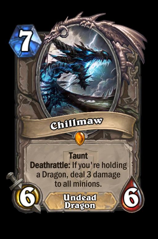 Chillmaw Hearthstone kártya