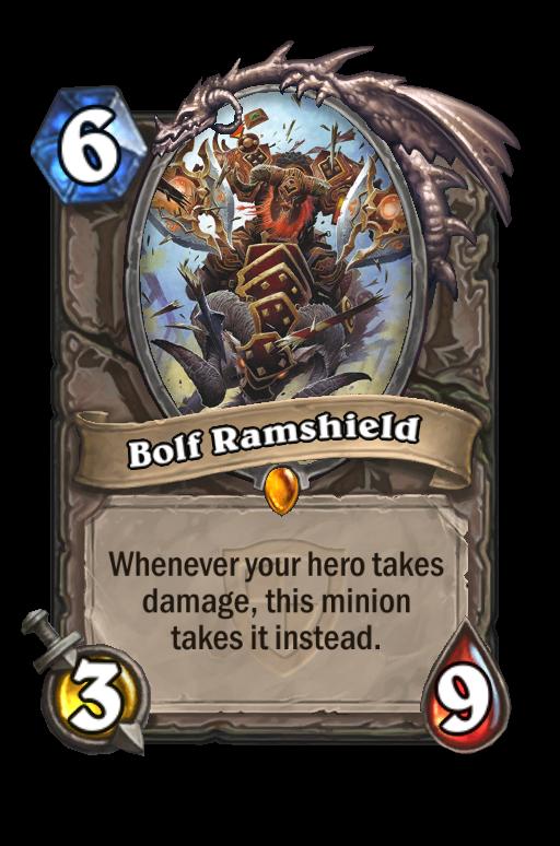 Bolf Ramshield Hearthstone kártya