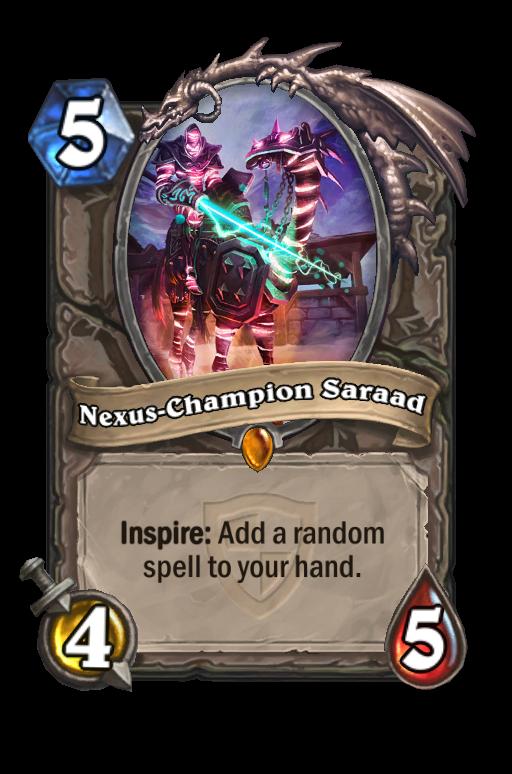 Nexus-Champion Saraad Hearthstone kártya