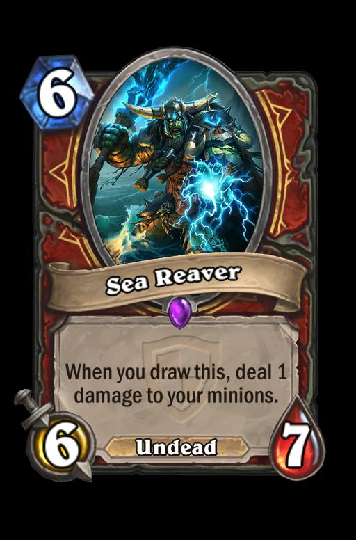 Sea Reaver Hearthstone kártya