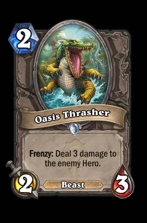 Oasis Thrasher Hearthstone kártya