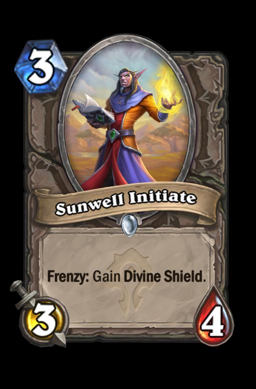 Sunwell Initiate Hearthstone kártya