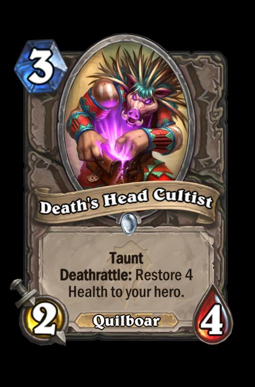 Death's Head Cultist Hearthstone kártya