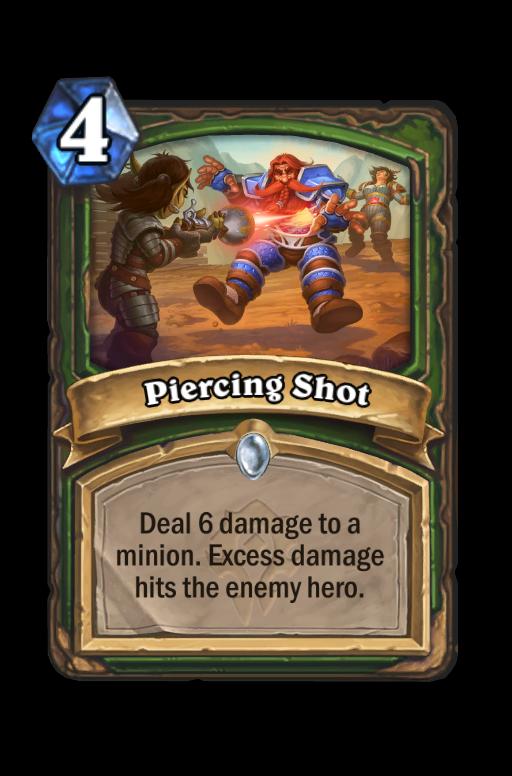 Piercing Shot Hearthstone kártya