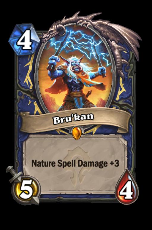 Bru'kan Hearthstone kártya