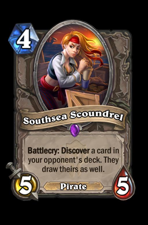 Southsea Scoundrel Hearthstone kártya