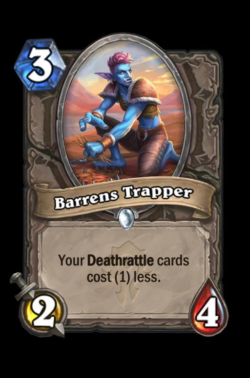 Barrens Trapper Hearthstone kártya