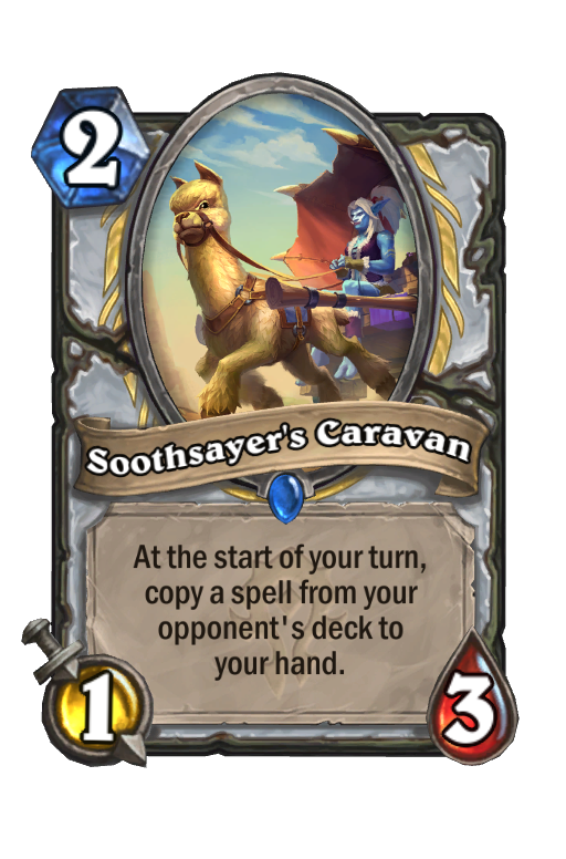 Soothsayer's Caravan Hearthstone kártya