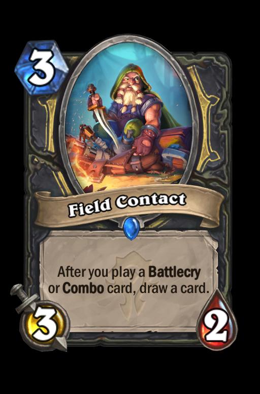 Field Contact Hearthstone kártya