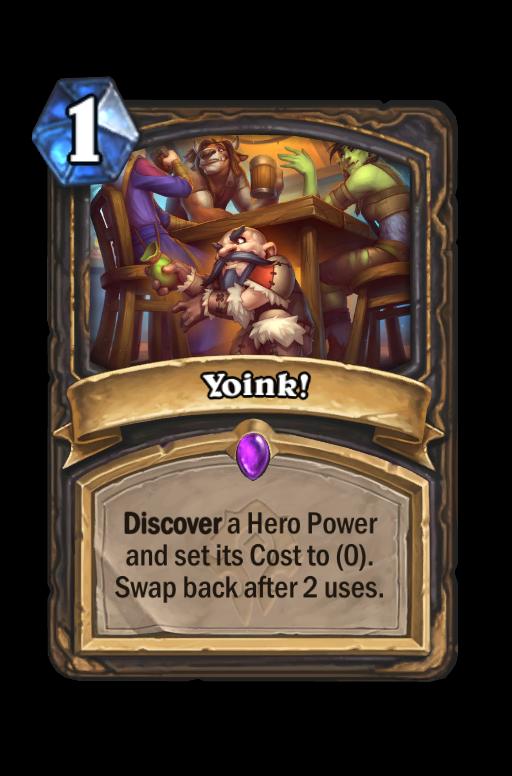 Yoink! Hearthstone kártya