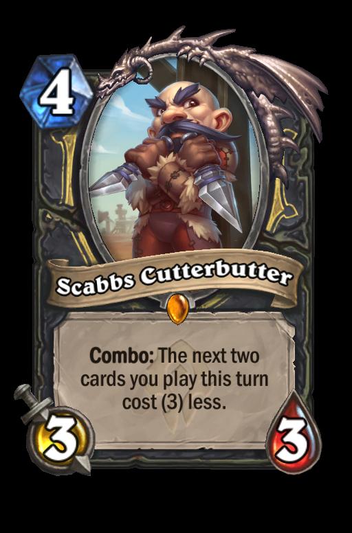 Scabbs Cutterbutter Hearthstone kártya