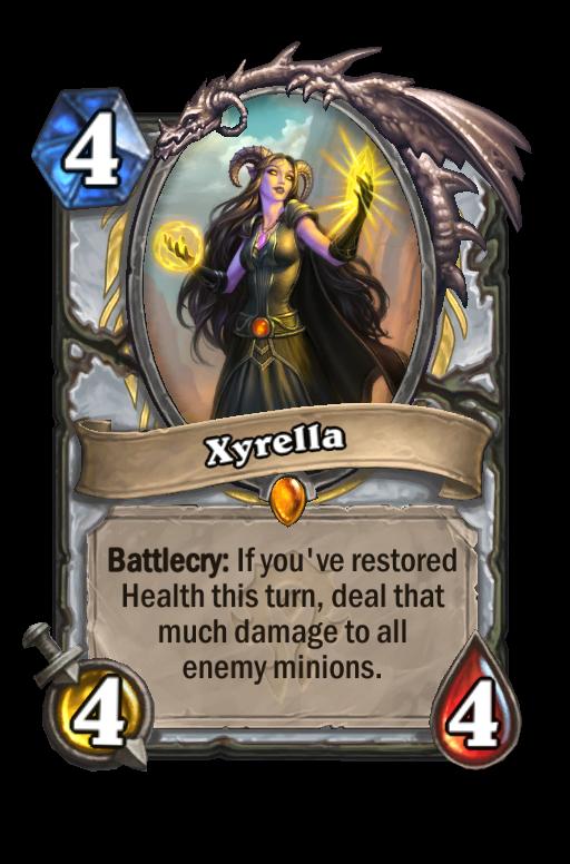 Xyrella Hearthstone kártya