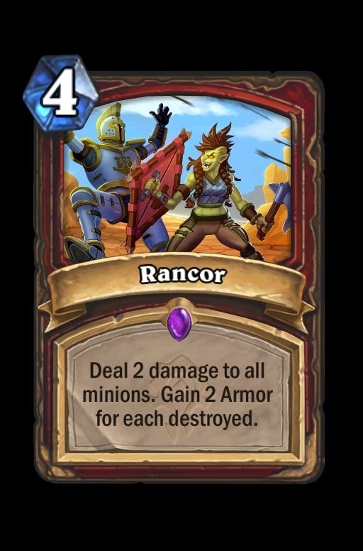 Rancor Hearthstone kártya