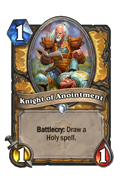 Knight of Anointment Hearthstone kártya