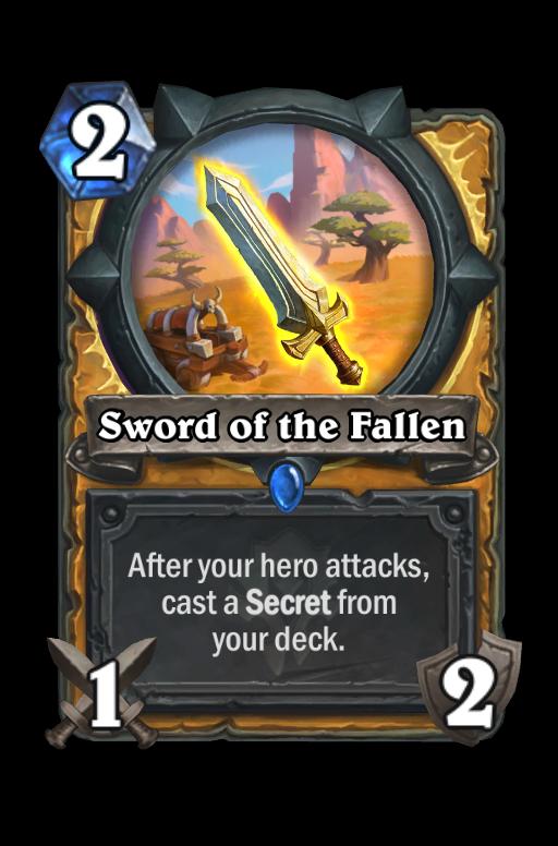 Sword of the Fallen Hearthstone kártya