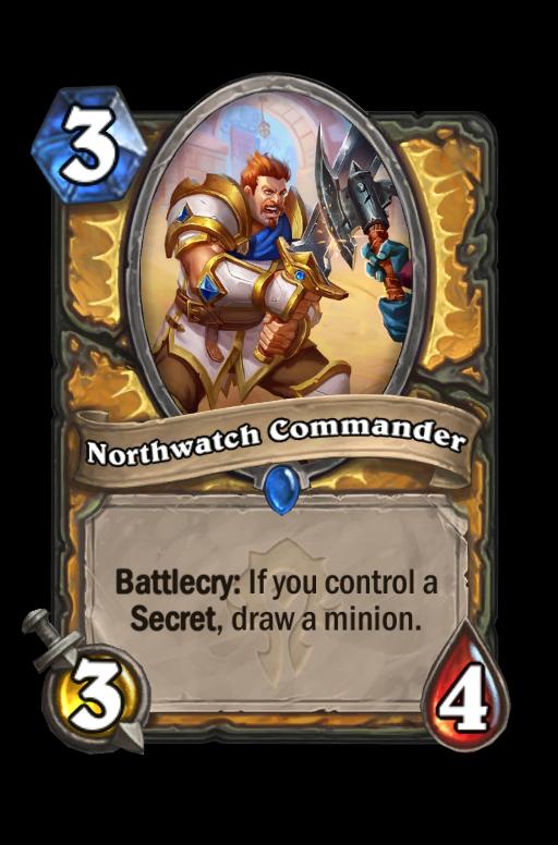 Northwatch Commander Hearthstone kártya