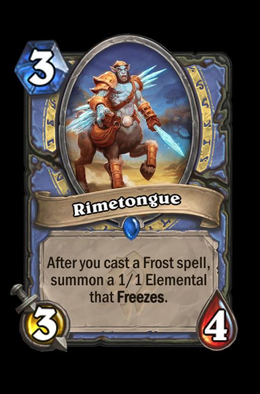 Rimetongue Hearthstone kártya