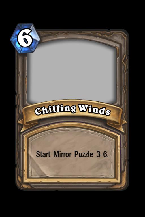 Chilling Winds Hearthstone kártya