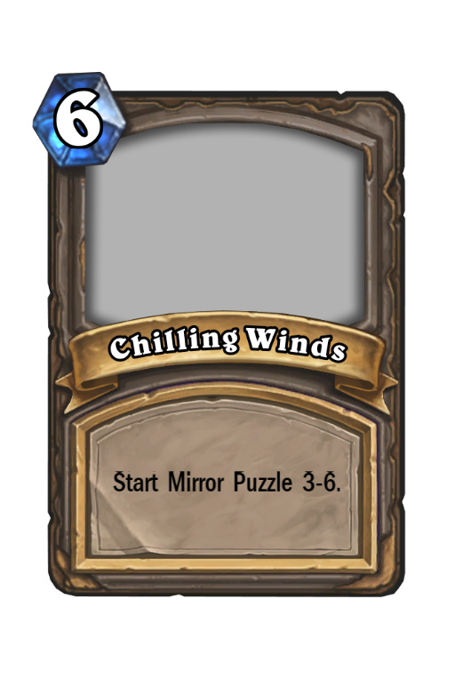 Chilling Winds Hearthstone kártya