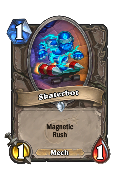 Skaterbot Hearthstone kártya