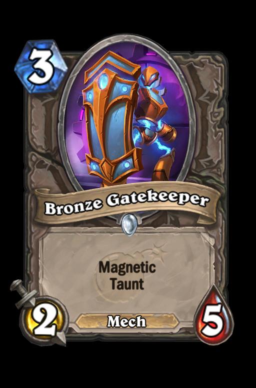 Bronze Gatekeeper Hearthstone kártya