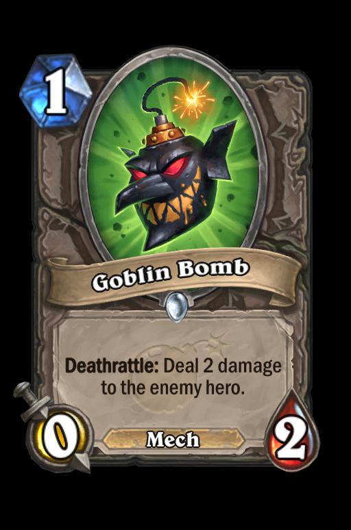 Goblin Bomb Hearthstone kártya