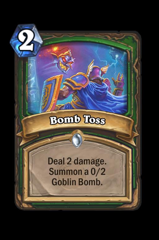 Bomb Toss Hearthstone kártya