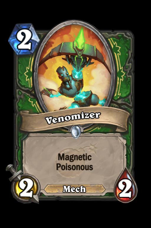 Venomizer Hearthstone kártya