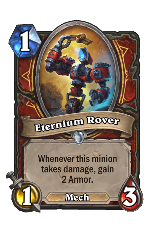 Eternium Rover Hearthstone kártya