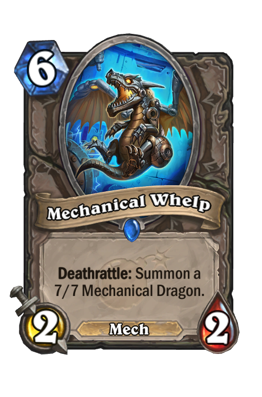 Mechanical Whelp Hearthstone kártya